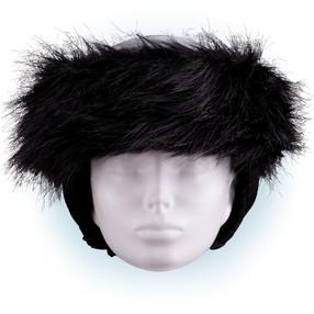 Čelenka na helmu černá - 32
