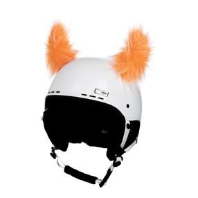 CrazyEars - rohy oranžové chlupaté - 27