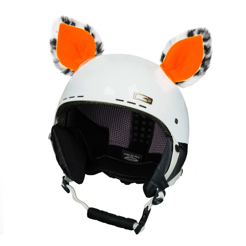 Crazy Ears - Neon orange cat - 2